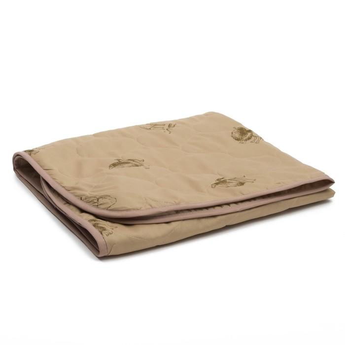 Одеяло АДЕЛЬ Эконом 105х140см, цв.МИКС, верблюд облегч. 150г/м, пэ100%
