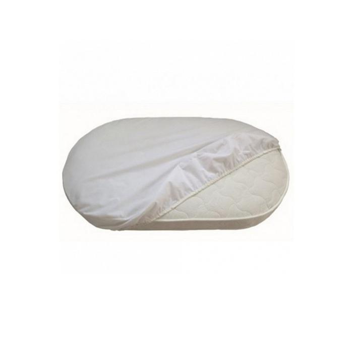 Наматрасник «Лили» натяжной, размер 43 × 90 см, цвет белый