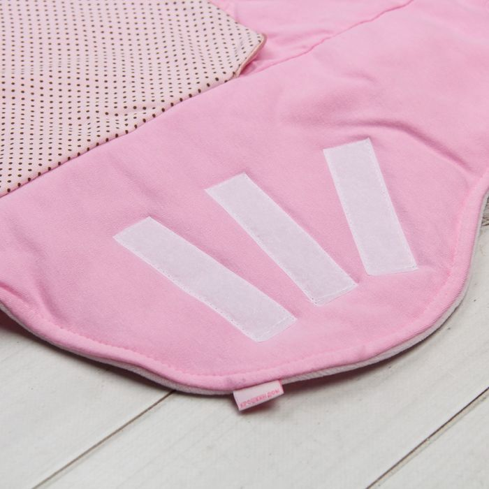 """Одеяло конверт трансформер в коляску """"Веселый день"""",цвет розовый ОКк/15(ВД) с/ВИ"""