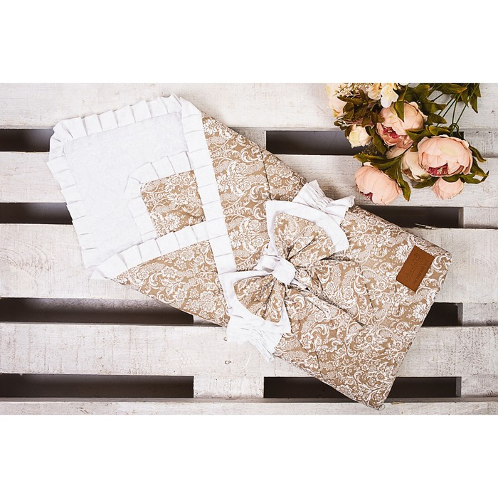 Конверт-одеяло «Элит», размер 93×93 см, кофе