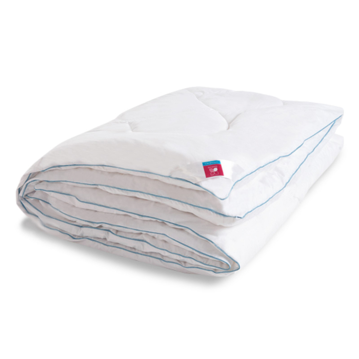 "Одеяло тёплое ""Лель"", размер 110х140 см, тик, белый"