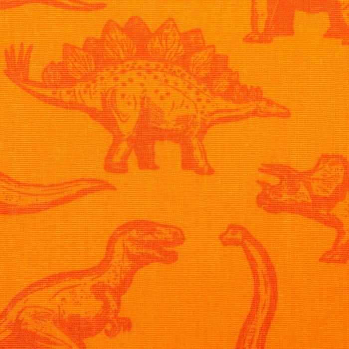 """Постельное бельё """"Этелька"""" 1,5 сп Динозавры 143*215 см, 150*214 см, 50*70 см -1 шт, 100% хлопок, бязь 125"""
