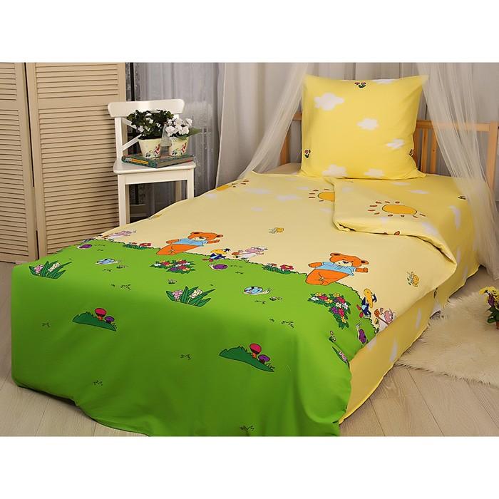 Детское постельное бельё «Мишки и ко»
