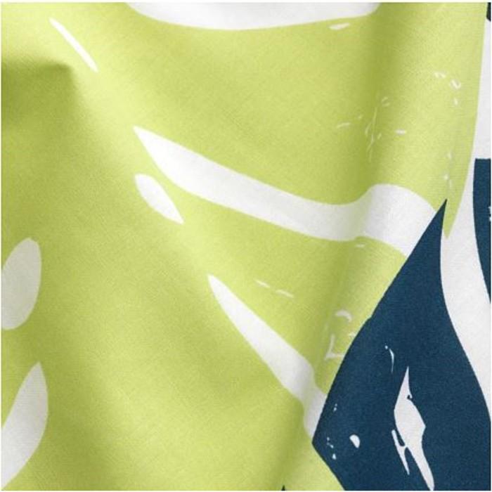Гардины с прихватом УРСКОГ, размер 120х300 см, цвет зелёный