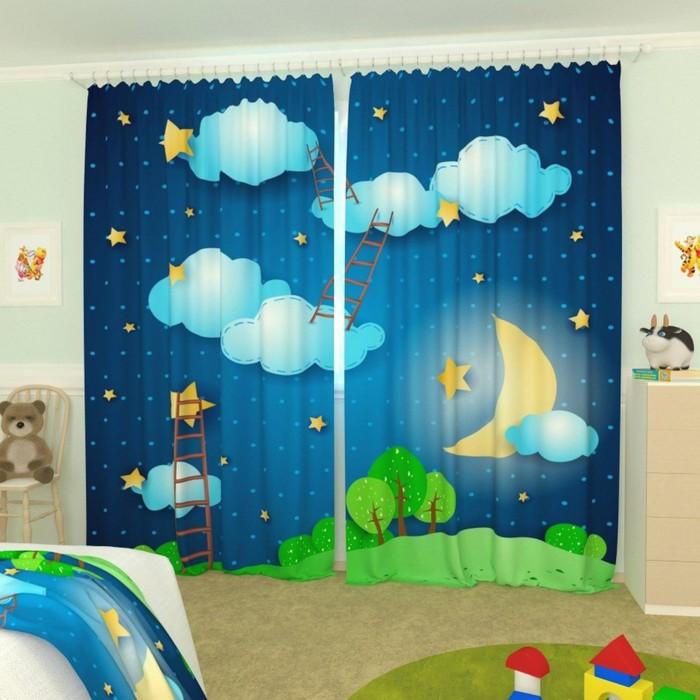 """Фотошторы """"Лестница в небо"""", размер 150х260 см-2 шт., габардин"""