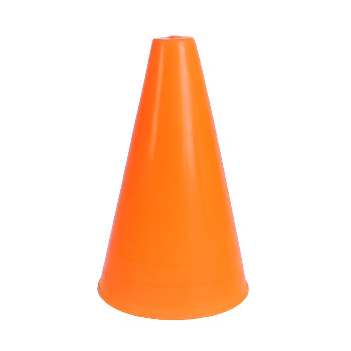 Конус для разметки полей и трасс 16 см флуоресцентный оранжевый