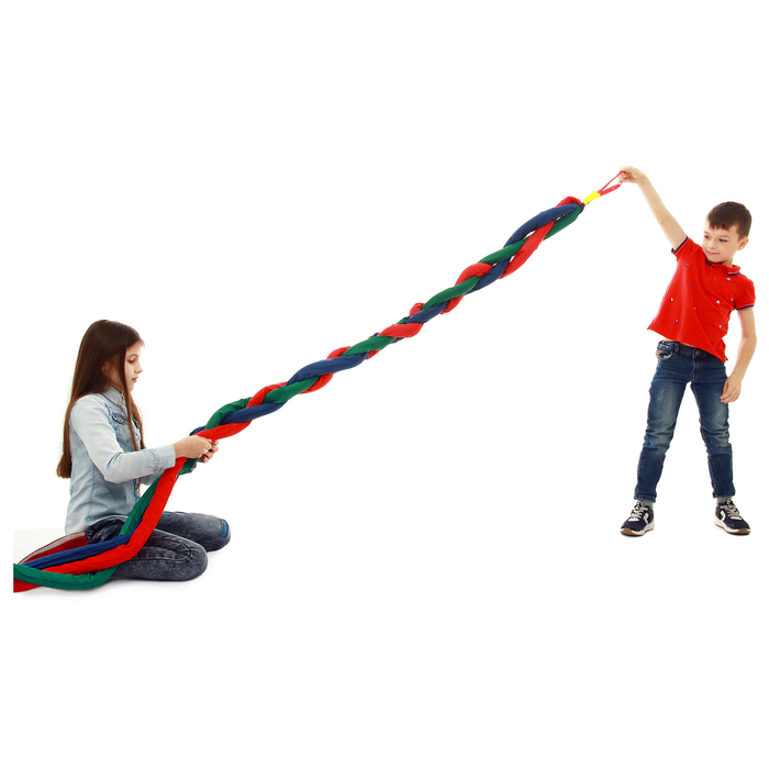 Игра «Заплети косу» объёмная, длина 3 м, цвета микс