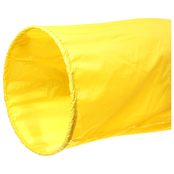 Тоннель для эстафет, длина 335 см, 1 кольцо диаметром 76 см, цвет жёлтый