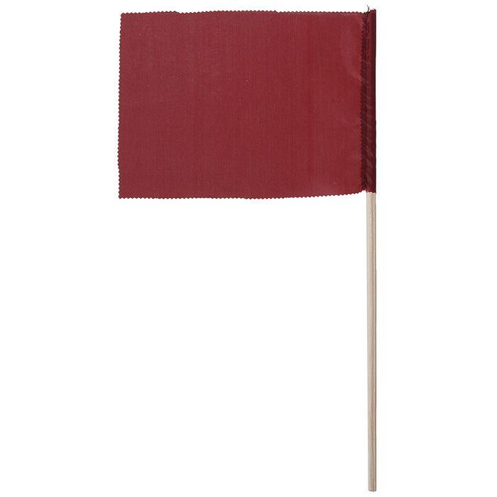 Флажок, длина 40 см, 15х20, цвет бордовый