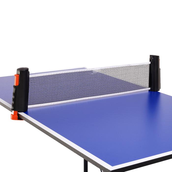 Сетка для настольного тенниса 155х13 см, раздвижная, цвет чёрно-красный