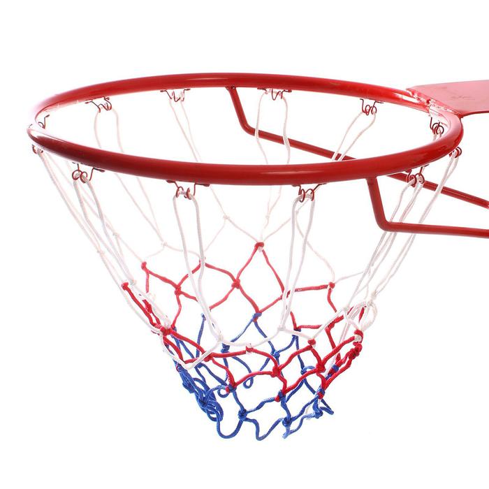 """Сетка баскетбольная """"Триколор"""", нить 3 мм, 2 штуки"""
