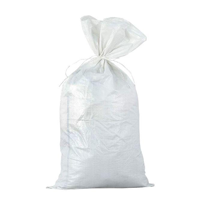 Мешок полипропиленовый белый 55 х 105 см, 50 кг