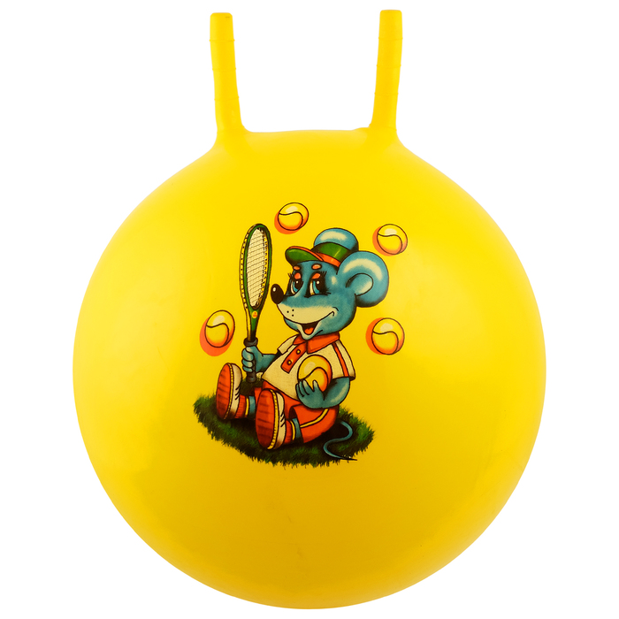 """Мяч-попрыгун с рожками """"Сказочные истории"""", d=55 см, 420 г, МИКС"""