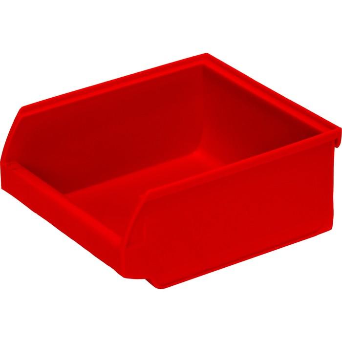 Лоток для склада Ancona, сплошной 107х98х47 красный