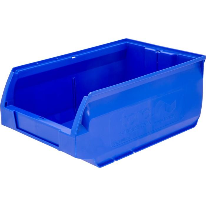 Лоток для склада Milano, сплошной 350х230х150 синий