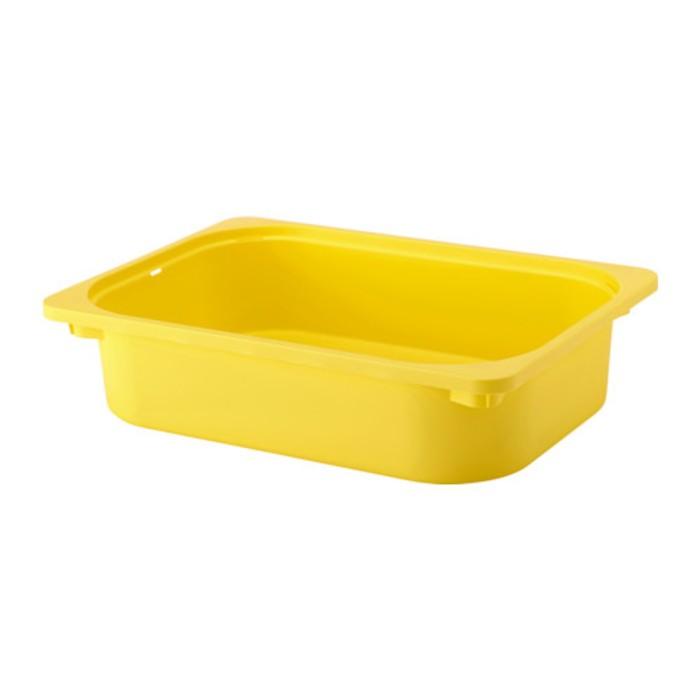Ящик, желтый ТРУФАСТ