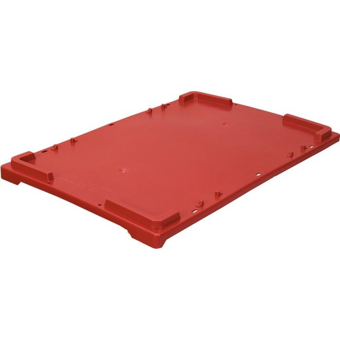 Крышка для ящиков 600x400 красная морозостойкая