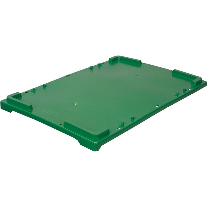 Крышка для ящиков 600x400 зеленая морозостойкая