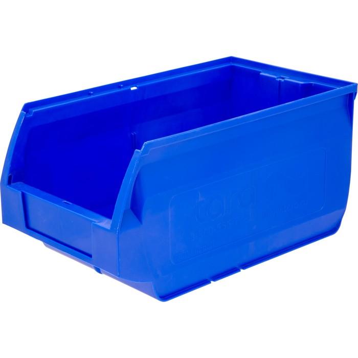 Лоток для склада Napoli, сплошной 400х230х200 синий