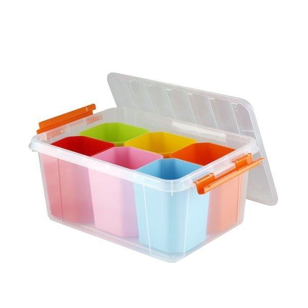 Ящик для игрушек Полимербыт Профи kids 15 л (4350803)