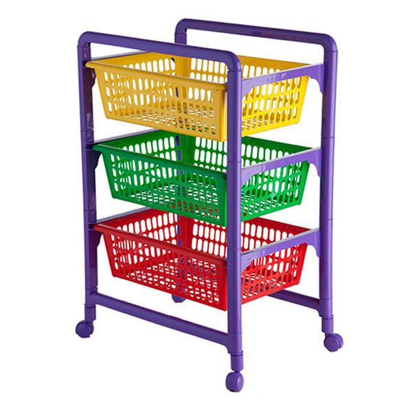 Контейнер для игрушек  Полимербыт С выдвижными лотками (4346000)