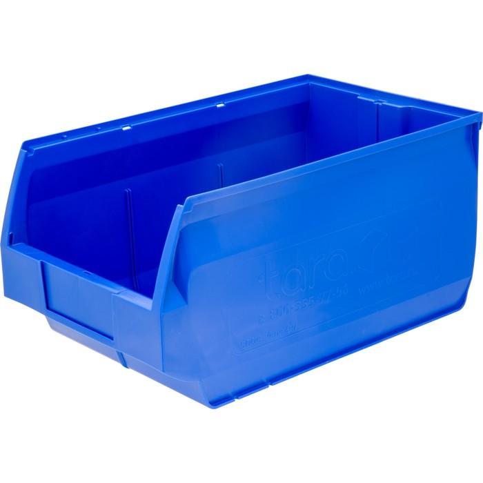 Лоток для склада Venezia, сплошной 500х310х250 синий