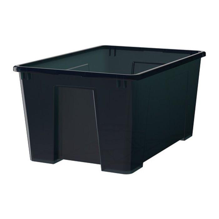 Ящик, цвет черный САМЛА