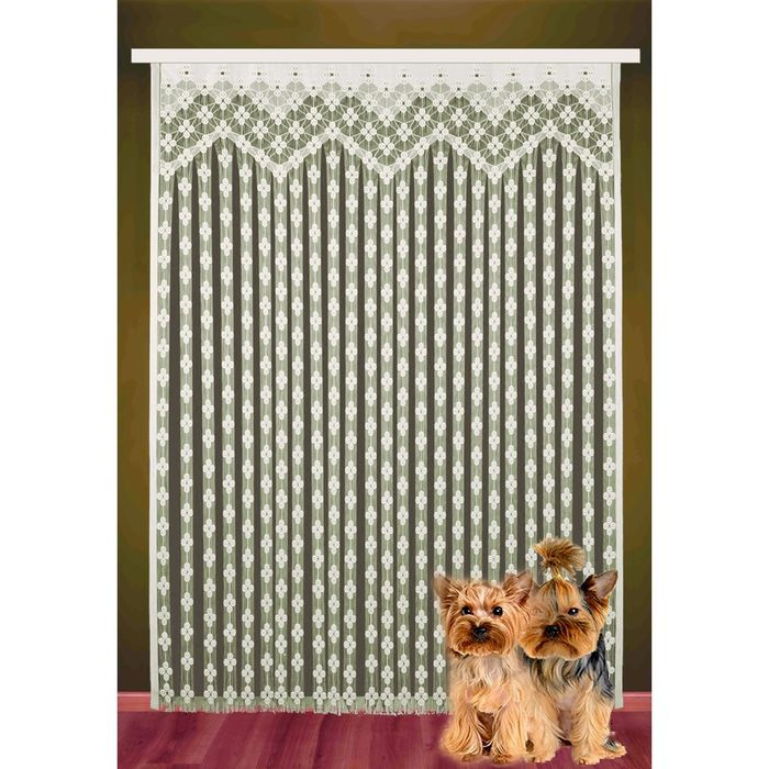 Гардина-лапша, размер 165х250 см, цвет белый 2002