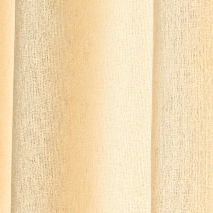 Шторы Dialog, размер 160х270 см-2 шт., цвет молочный, шторная лента