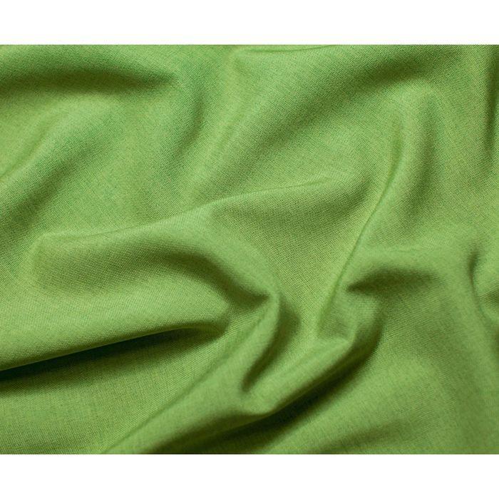 Комплект штор «Кирстен» с подхватами: тюль ш 500 х в 270 см, портьеры ш 240 х в 270 см - 2 шт, бежево-зелёный