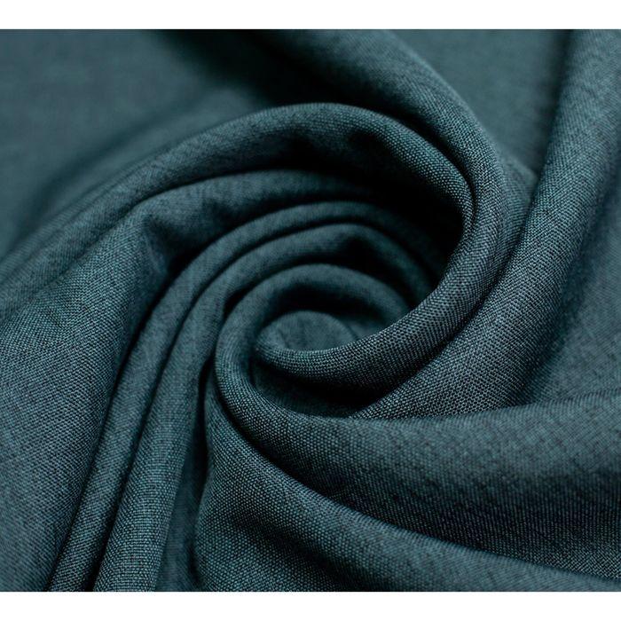 Комплект штор «Кирстен» с подхватами: тюль ш 500 х в 270 см, портьеры ш 240 х в 270 см - 2 шт, серый-мокрый асфальт