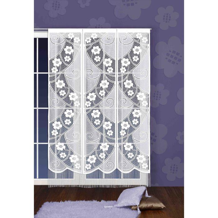 Гардина-панно, размер 150х240 см, белый 520А
