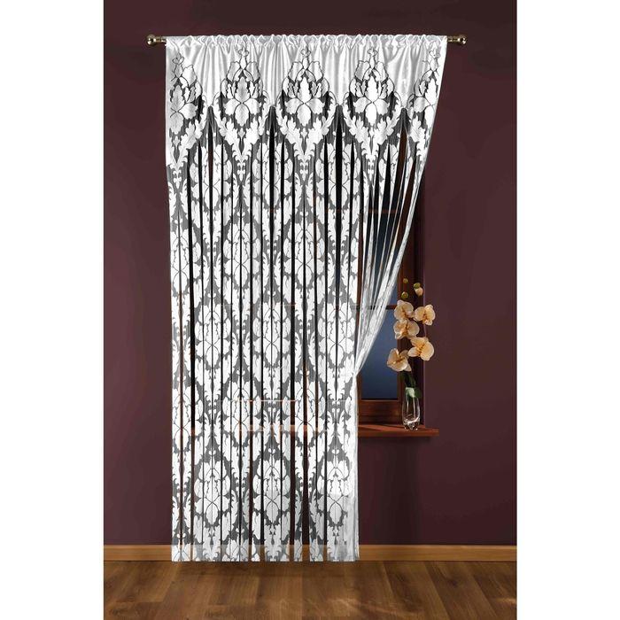 Гардина-лапша, размер 150x250 см, белый 425А