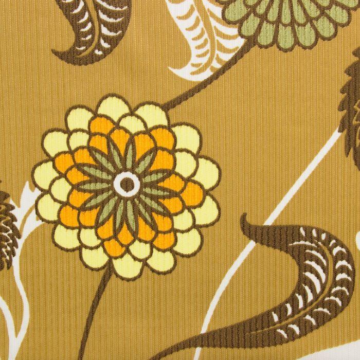 """Набор штор """"Экономь и Я"""" 145х250 см - 2 шт., Цветы и листья, полиэфир"""