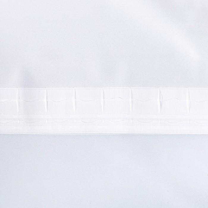 """Штора портьерная Этель """"Акварель"""" цв.фиолетовый, 250*265 см, пл. 210 г/м2, 100 п/э"""