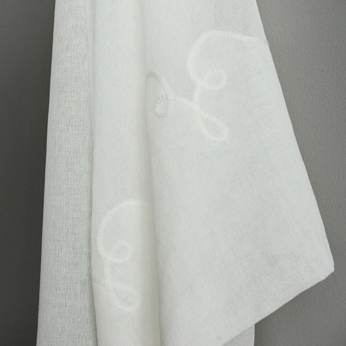 Комплект штор «Мэри», размер 145х280 см-2 шт, цвет белый