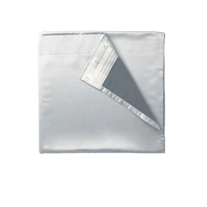 Подкладка для гардин ГЛАНСНЭВА, размер 143х290 см, цвет светло-серый