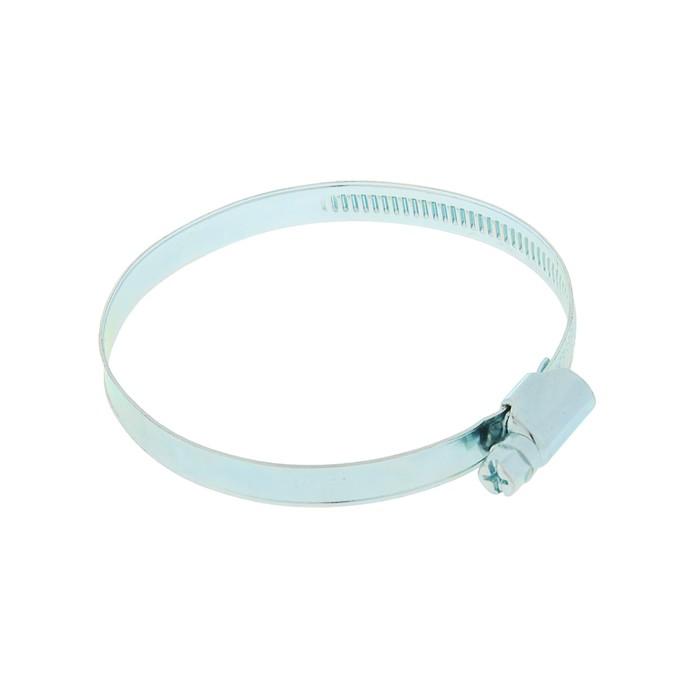 Хомут оцинкованный TUNDRA krep, несквозная просечка, диаметр 60-80 мм, ширина 9 мм