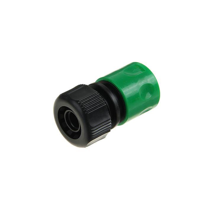 """Коннектор, 5/8"""" (16 мм), пластик"""