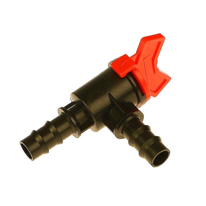 """Клапан регулирующий, L-образный, 1/2"""" (12 мм) — 1/2"""" (12 мм), pp-пластик"""