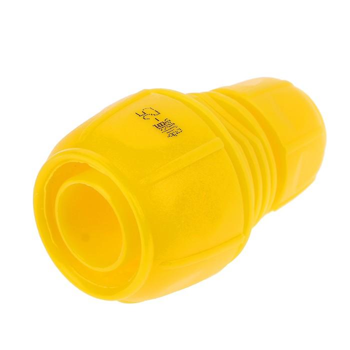"""Муфта-соединитель, 1"""" (25 мм) – 1/2"""" (12 мм), цанга, ABS-пластик"""