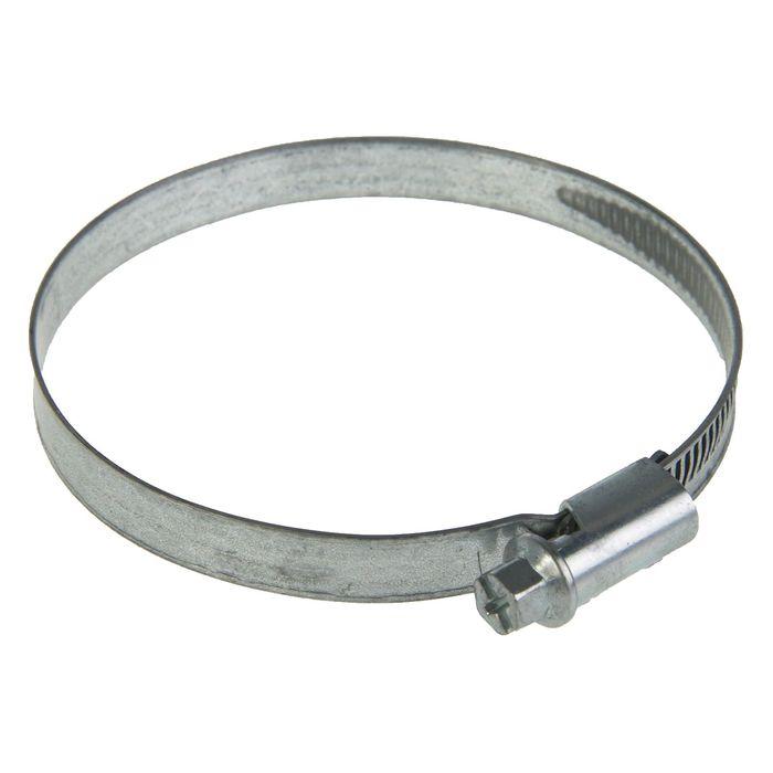 Хомут червячный NORMA, диаметр 60-80 мм, ширина ленты 9 мм, оцинкованный