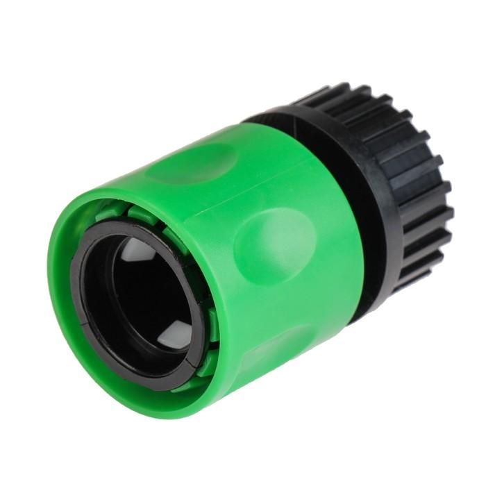 """Набор: коннектор с внутренней резьбой 3/4"""" (19 мм), коннектор с наружной резьбой 3/4"""" (19 мм), пластик"""