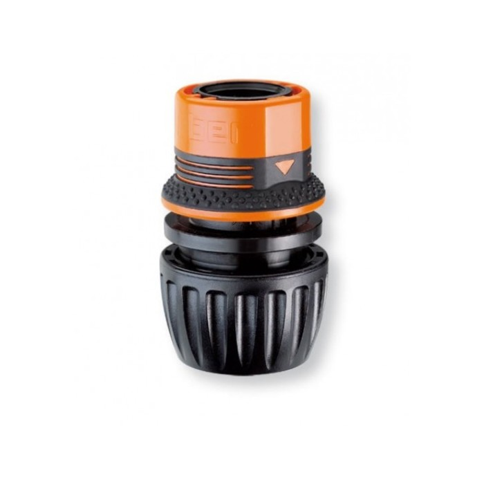 "Коннектор, 1/2"" – 5/8"" – 3/4"" (12 – 16 – 19 мм), пластик, Claber Ergogrip System"