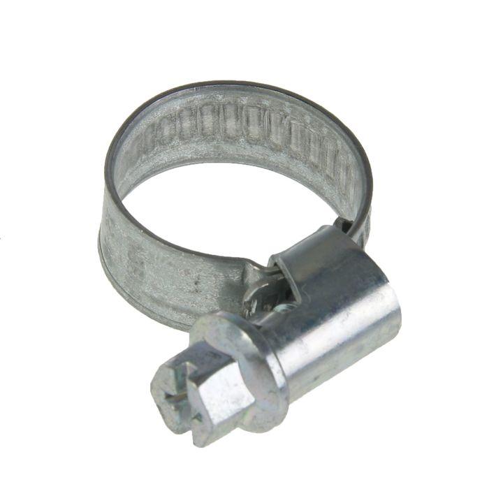 Хомут червячный NORMA, диаметр 12-18 мм, ширина ленты 9 мм, оцинкованный