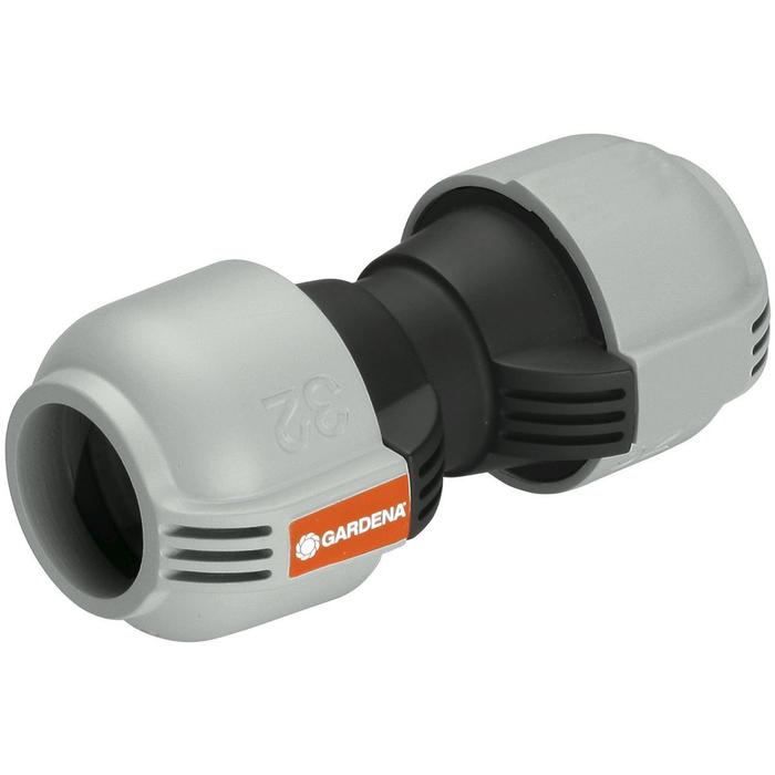 Соединитель 32 мм, пластик, GARDENA