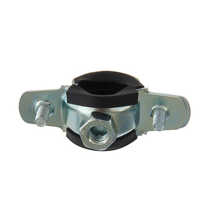 """Хомут для труб с гайкой М8, 1/2"""" диаметр 20-24 мм"""