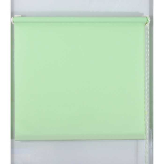 Рулонная штора «Простая MJ» 90х160 см, цвет зеленое яблоко