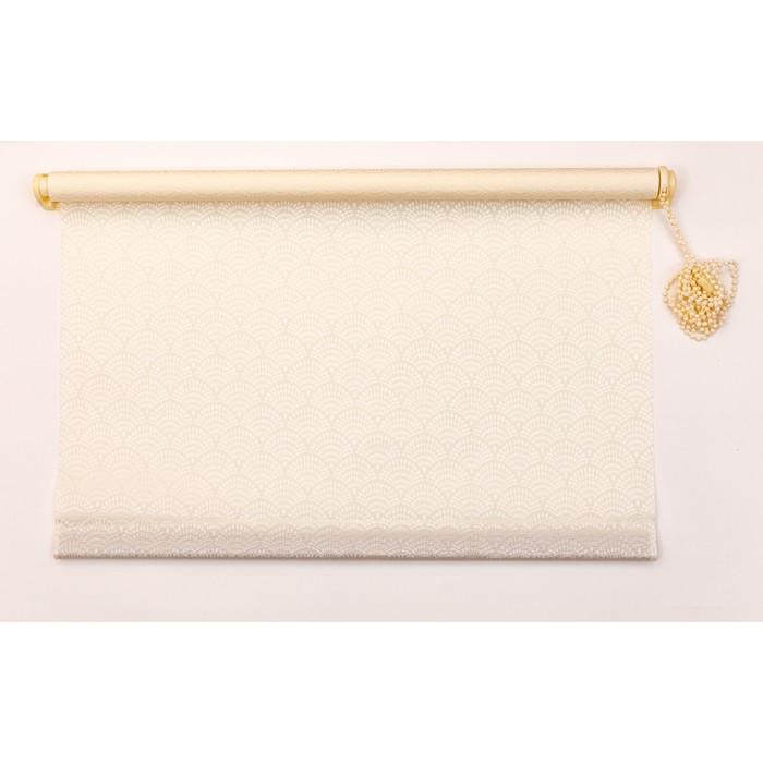 Рулонная штора «Дольче Вита» 80х160 см, цвет шампань