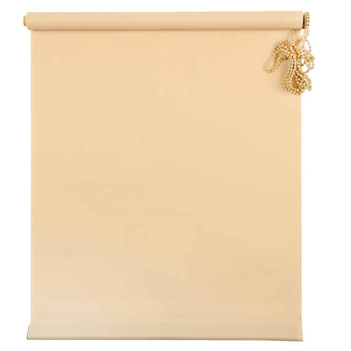 Штора рулонная MJ 100х160 см, цвет песочный
